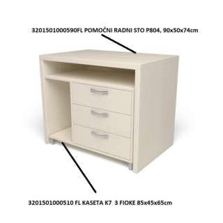 FL POMOĆNI RADNI STO P804, 90x50x74cm