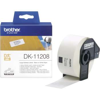 BROTHER TRAKE DK-11208 38mm x 90mm