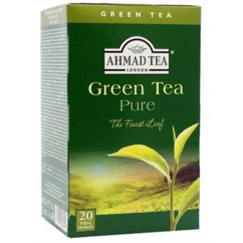 AHMAD TEA Green Pure 20/1