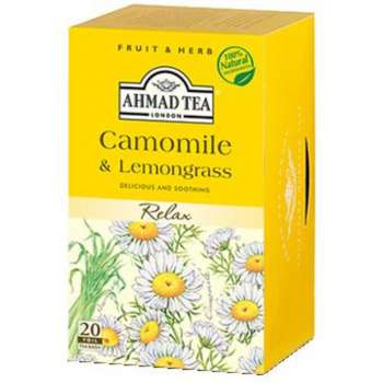 AHMAD TEA Chamomile & Lemongrass 20/1
