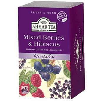 AHMAD TEA Mixed Berries & Hibiscus 20/1