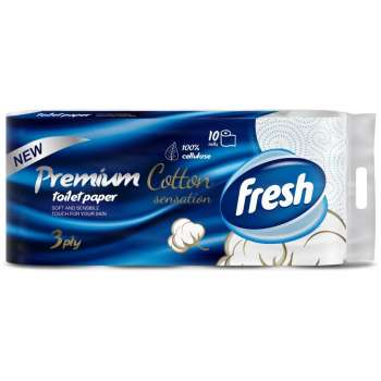 FRESH T.PAPIR PREMIUM COTTON 10/1  3SL - kod100156