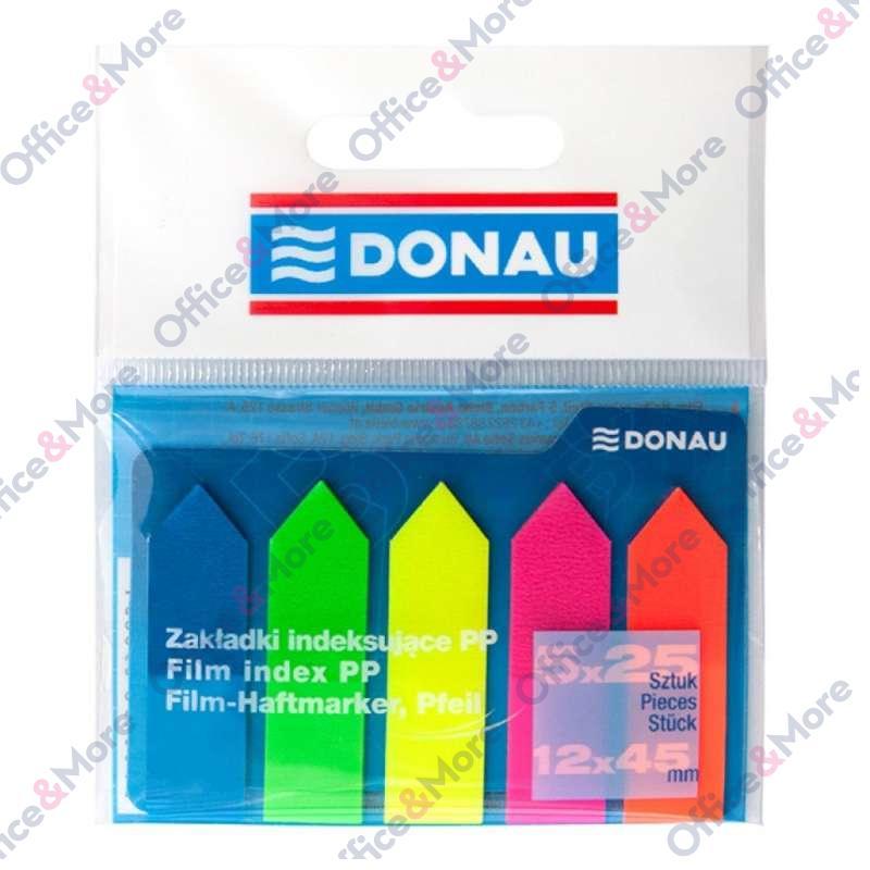 DONAU INDEKS PVC STRELICA 12X45 MM 5 X 25 L