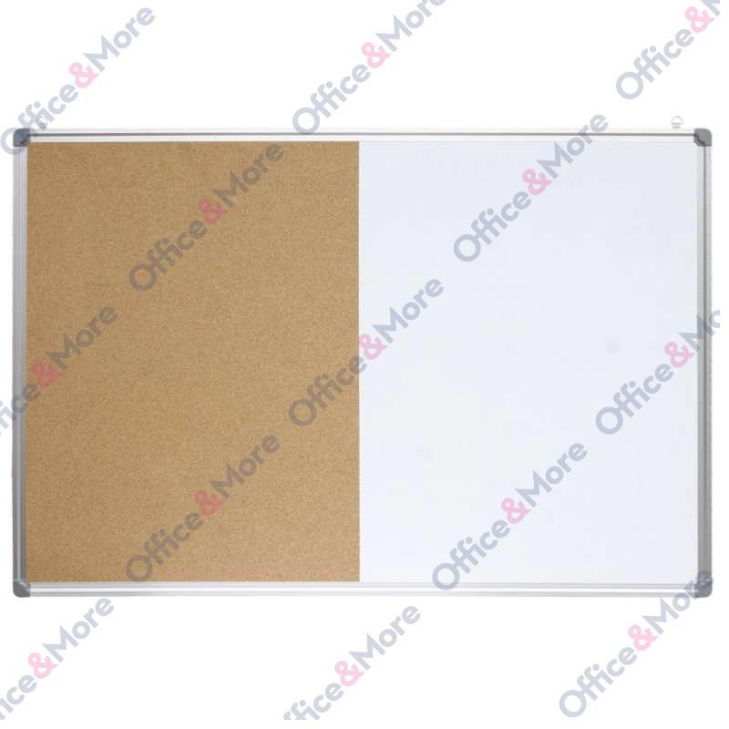 OPTIMA PLUTA/MAGNETNA TABLA 120x200 ALU RAM 22393