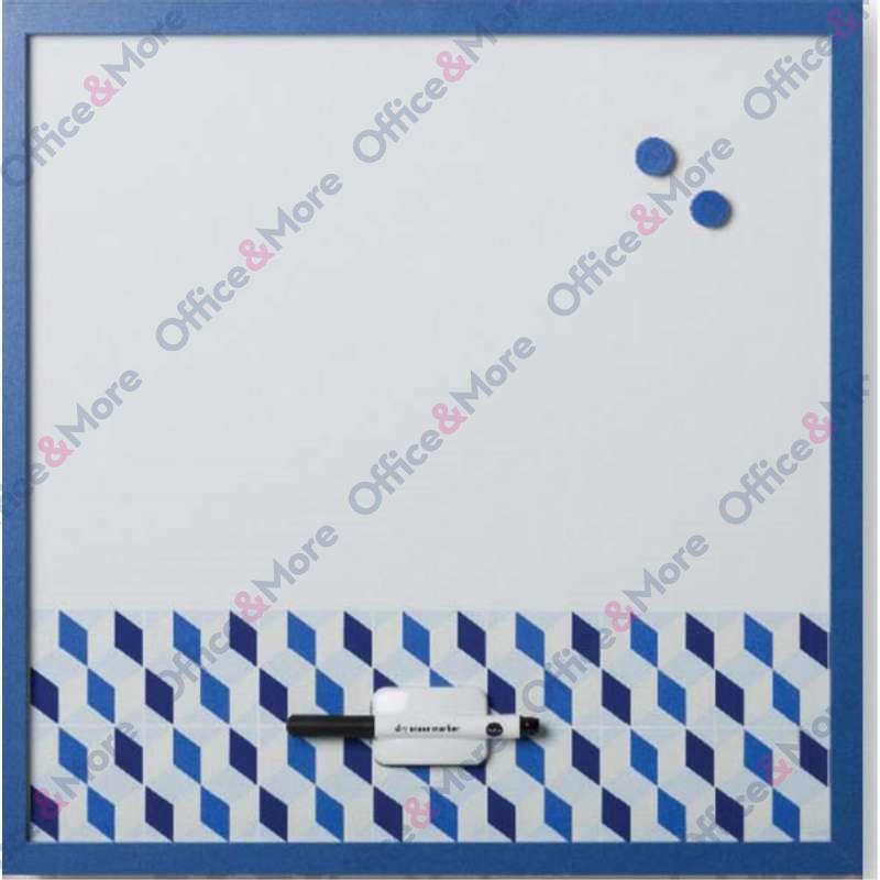 Bi-O MAGNETNA TABLA 45X45CM PLAVI RAM 058342