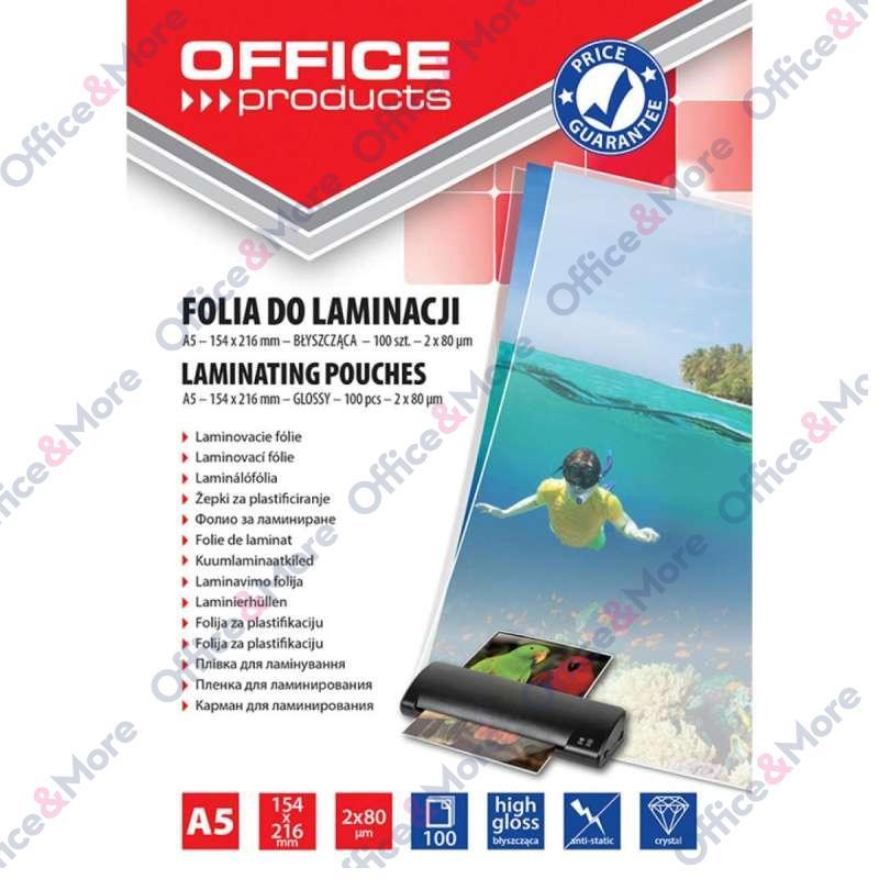 FOLIJA ZA PLASTIFIKACIJU A5/80mic PAK100-20325215
