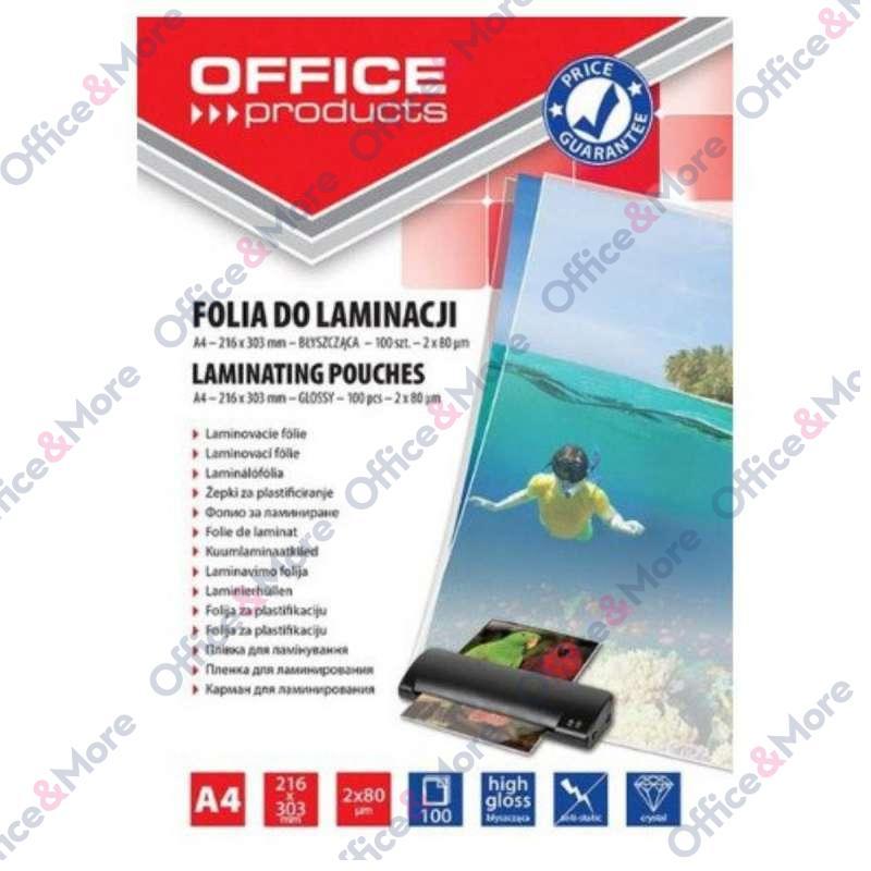 FOLIJA ZA PLASTIFIKACIJU A4/80mic PAK100-20325415