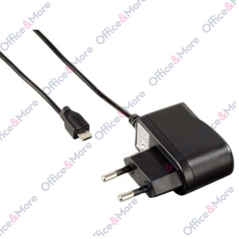 HAMA PUNJAČ ZA STRUJU MICRO USB 1000 mAh