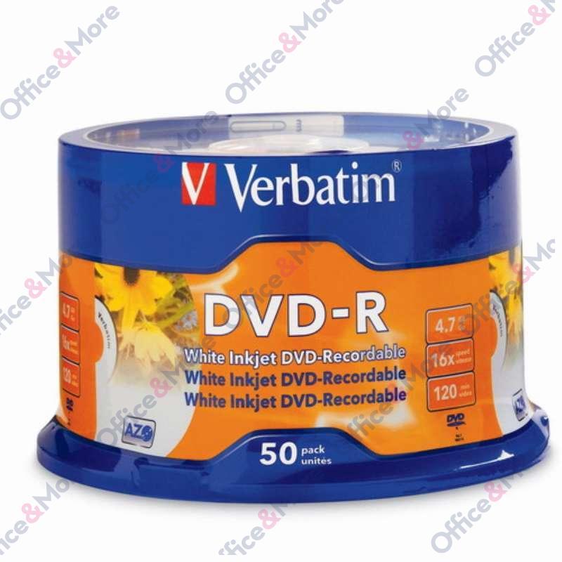 VERBATIM DVD-R 50/1 PRINTABLE 4,7GB 16X