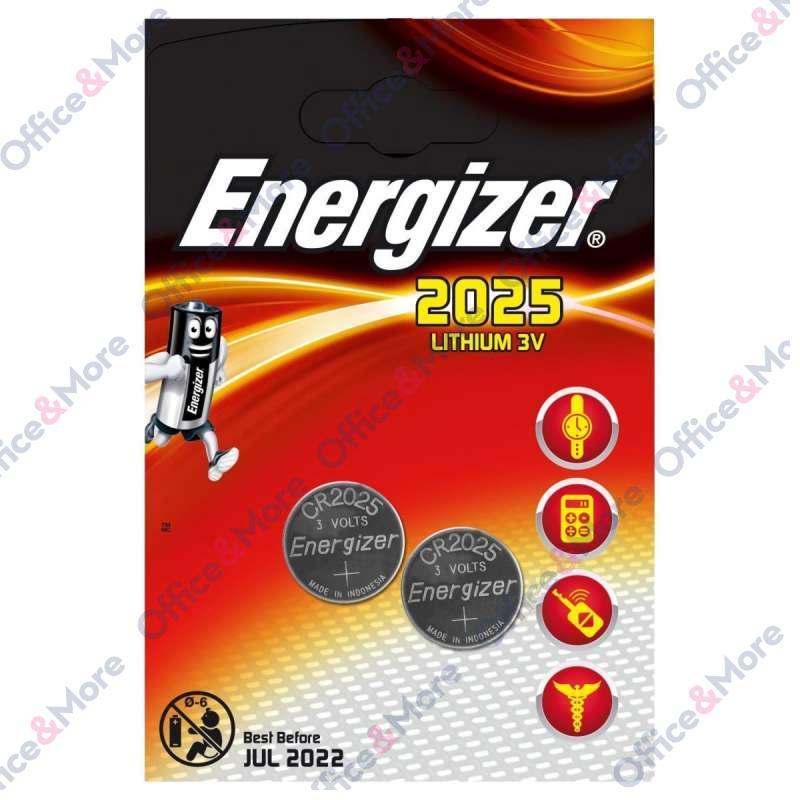 ENERGIZER BATERIJA CR2025 3V pak2