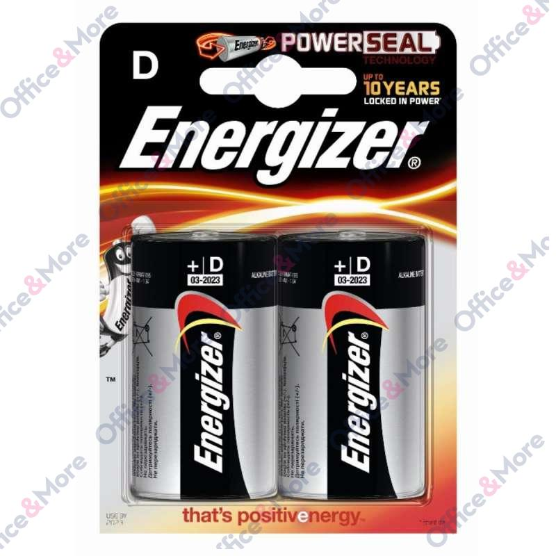 ENERGIZER BAT.ALK.LR20G-D-1,5V,blis.pak.2 -25050