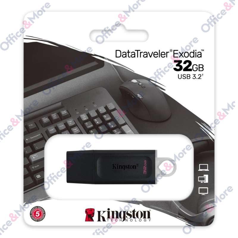 KINGSTON USB FLASH MEM. 32GB DTX