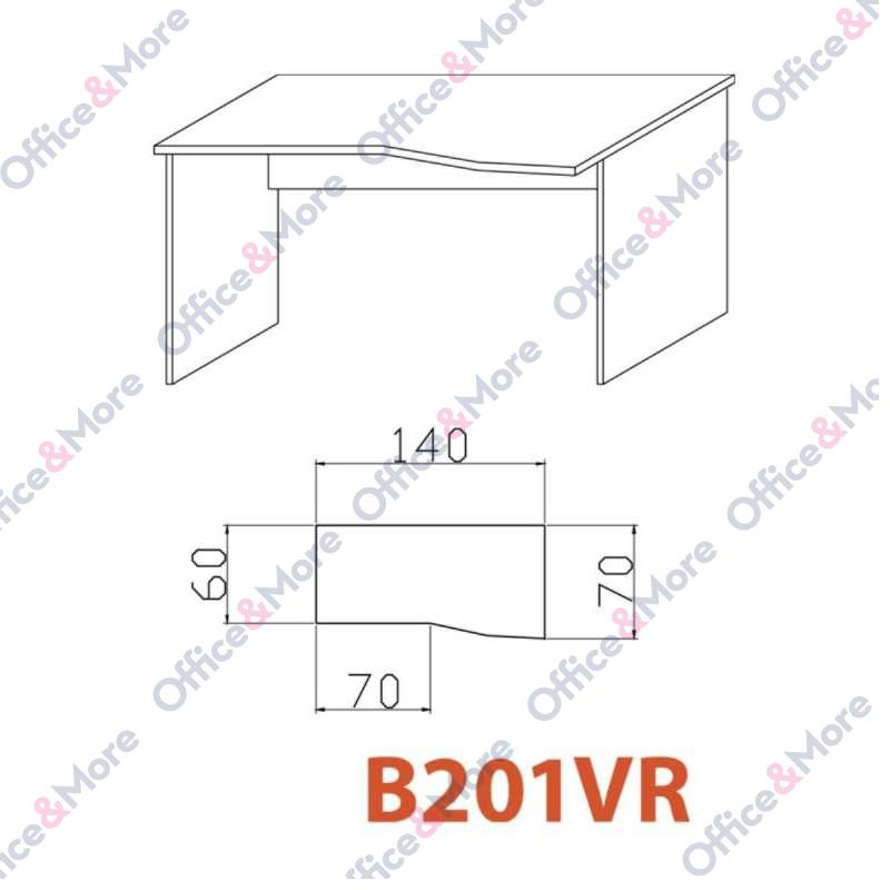 OMF STO B201VR SIVA 140/70/60/74