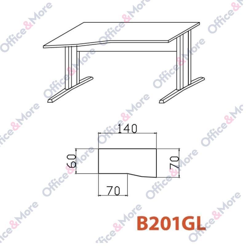 OMF STO B201GL BUKVA 140/70/60/74