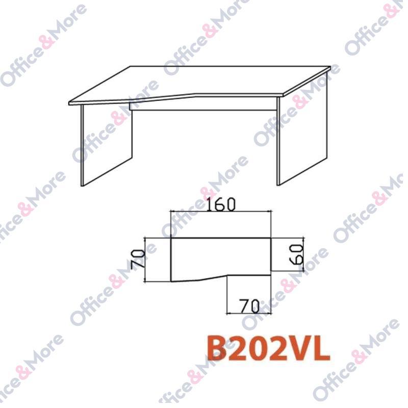 OMF STO B202VL SIVA 160/70/60/74