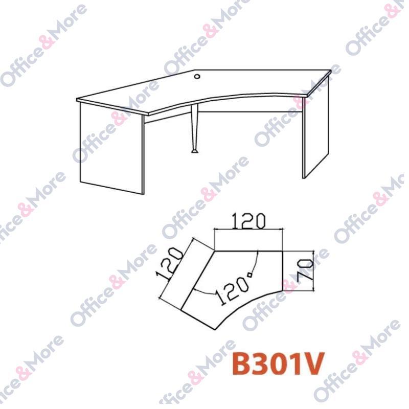 OMF STO B301V BUKVA 120/120/70/74