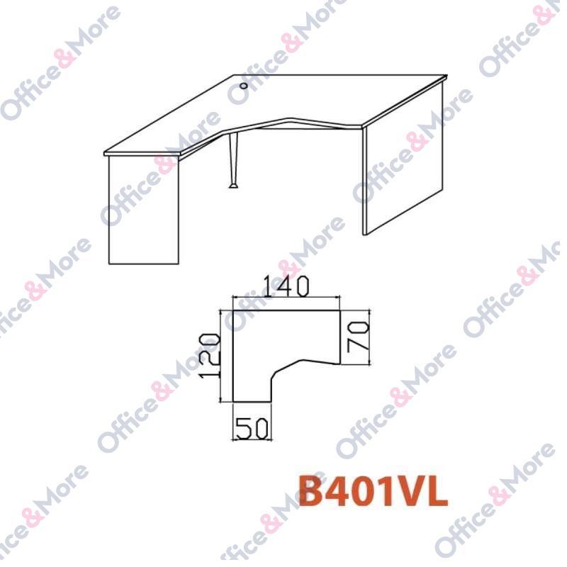 OMF STO B401VL SIVA 140/120/70/74