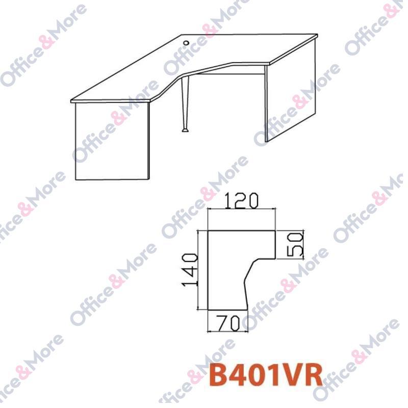 OMF STO B401VR SIVA 140/120/70/74