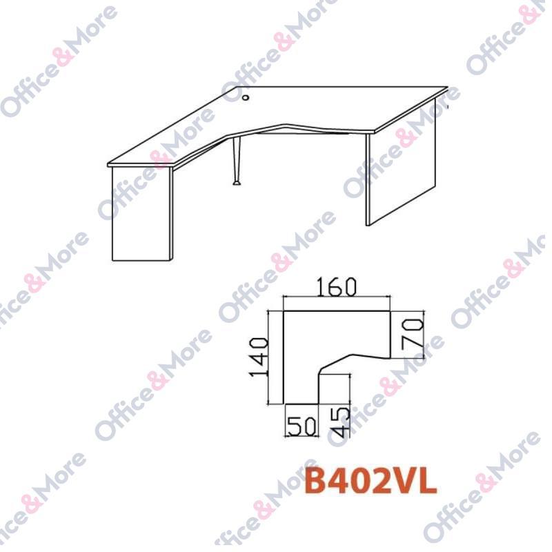 OMF STO B402VL SIVA 160/140/70/74