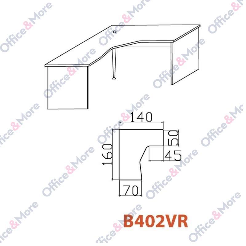 OMF STO B402VR BUKVA 160/140/70/74