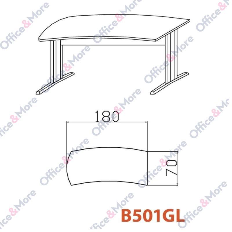 OMF STO B501GL SIVA 180/70/74