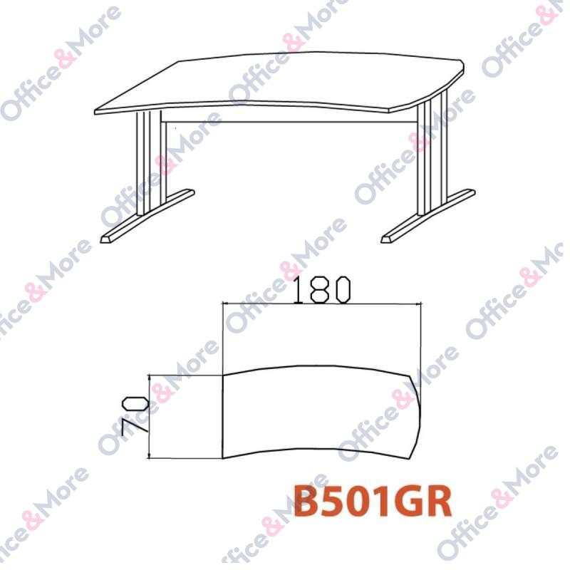 OMF STO B501GR BUKVA 180/70/74