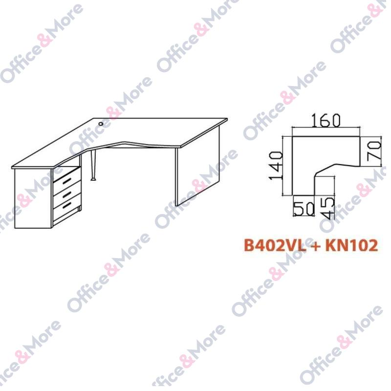 OMF STO B402VL+KN102 SIVA