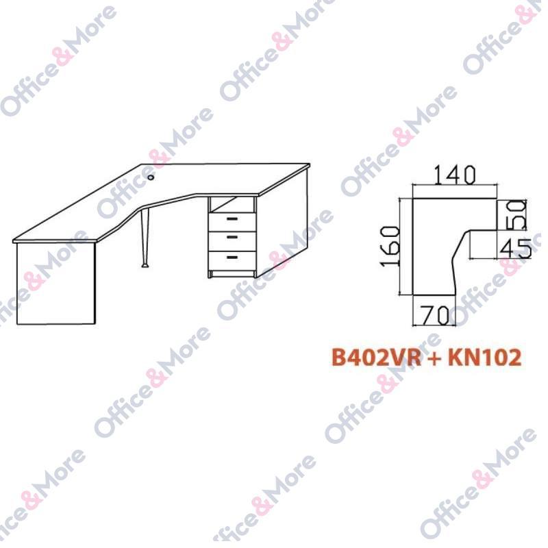 OMF STO B402VR+KN102 BUKVA
