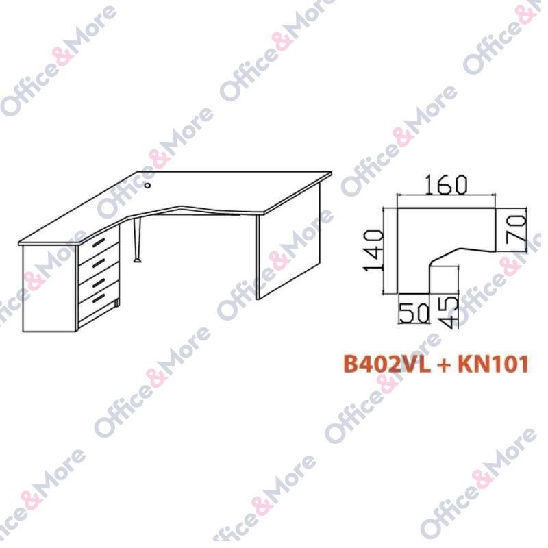 OMF STO B402VL+KN101 BUKVA