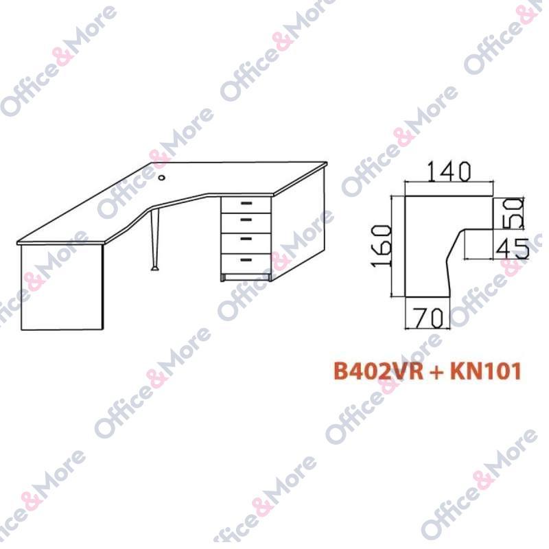 OMF STO B402VR+KN101 BUKVA