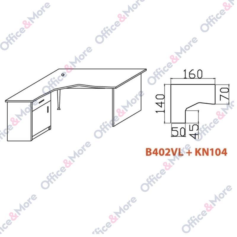 OMF STO B402VL+KN104 BUKVA