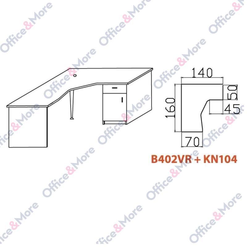 OMF STO B402VR+KN104 BUKVA