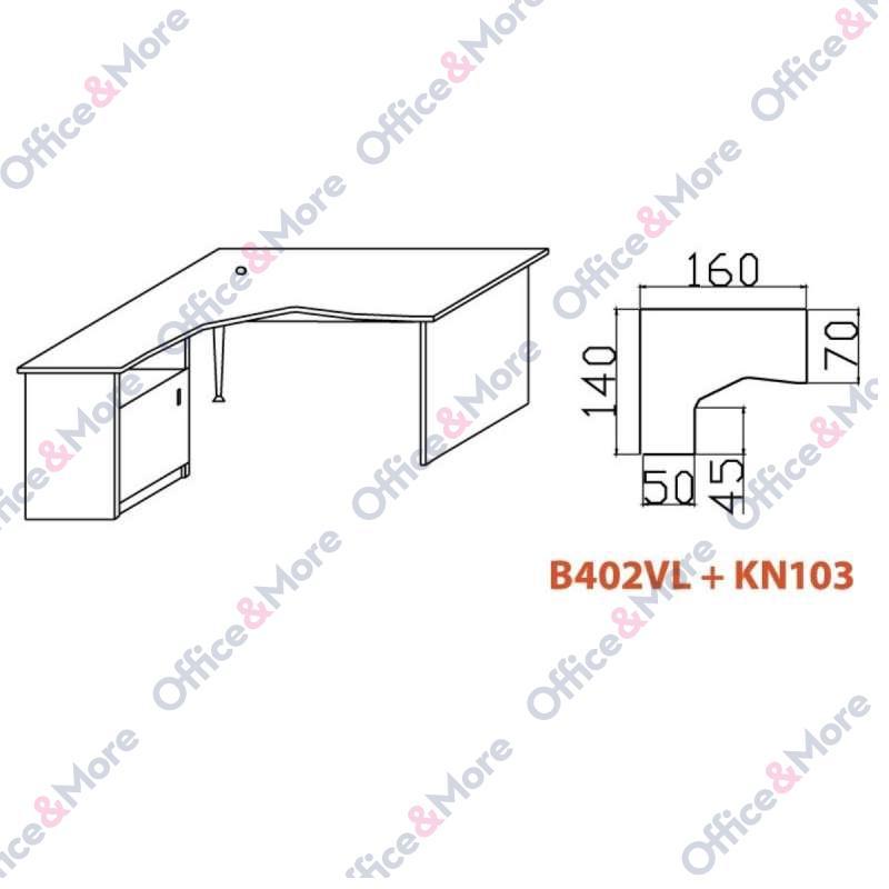 OMF STO B402VL+KN103 BUKVA