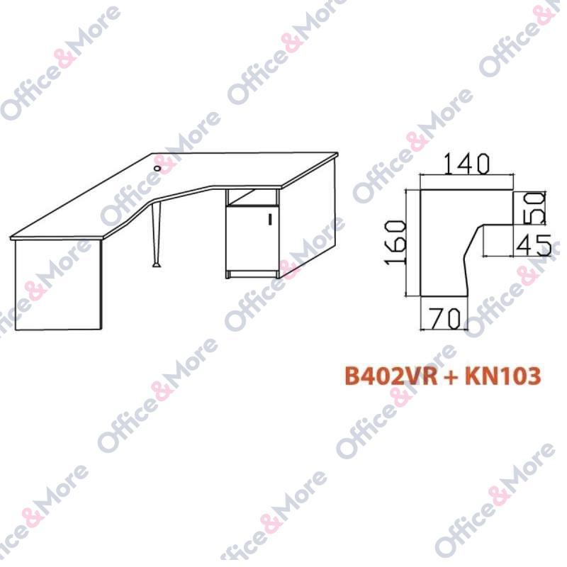OMF STO B402VR+KN103 BUKVA
