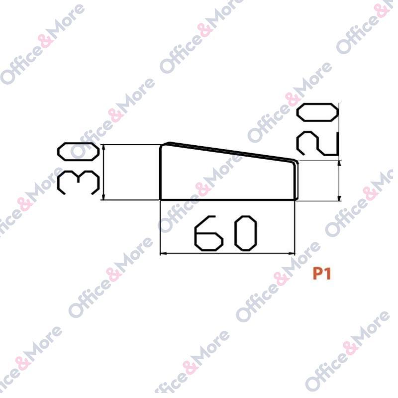 OMF PREGRADA P1 60/30/20 PLAVA