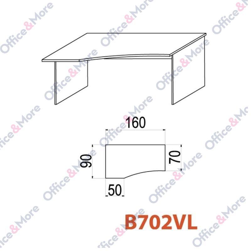 OMF STO B702VL 160/90/70/74 BUKVA
