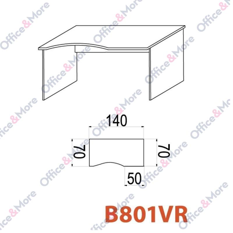 OMF STO B801VR 140/70/74 SIVA