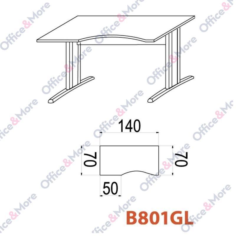 OMF STO B801GL 140/70/74 BUKVA