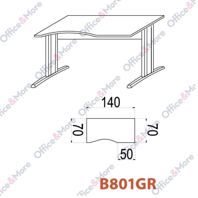 OMF STO B801GR 140/70/74 BUKVA