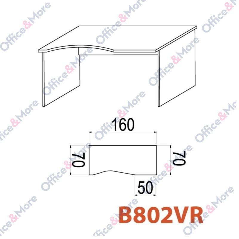 OMF STO B802VR 160/70/74 SIVA