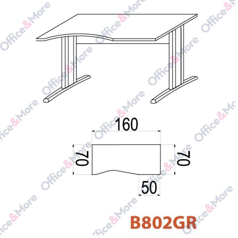 OMF STO B802GR 160/70/74 BUKVA