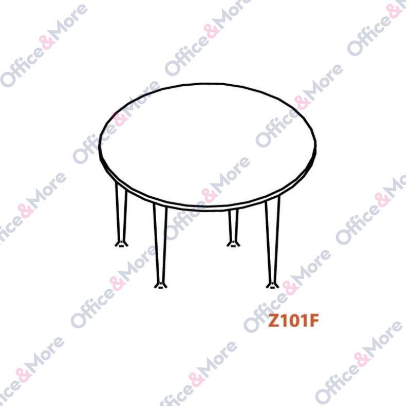 OMF KONF.STO Z101F OKRUGLI FI 100/74 SIVA