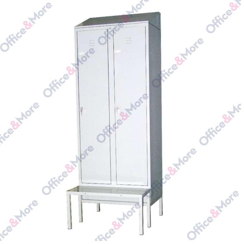 MET.ORMAR GARDE.DVOKRILNI HACCP 80x50x235