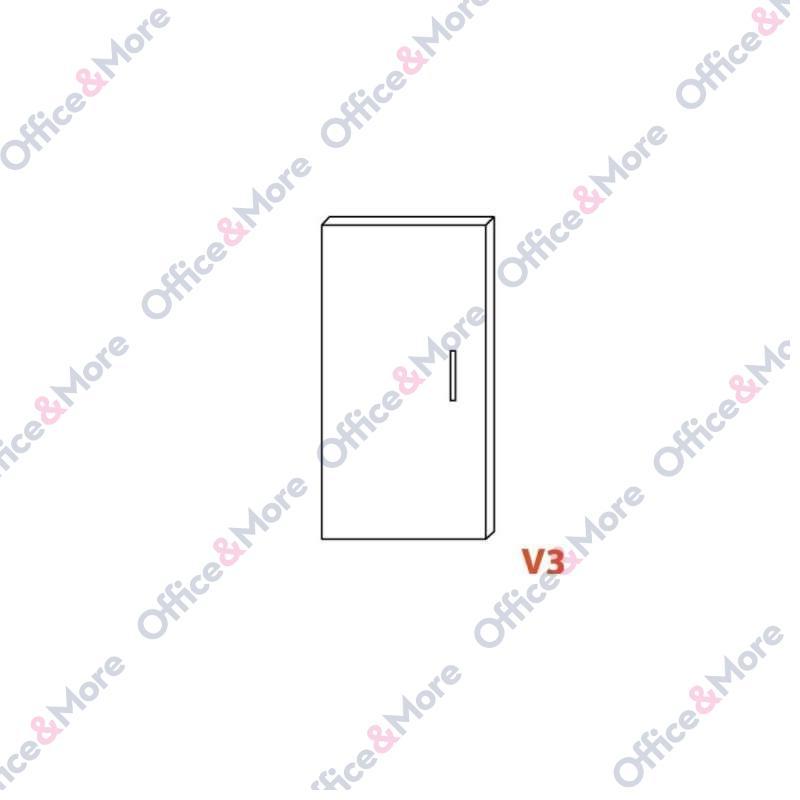 OMF VRATA V3 ZA H85 1KOM.FL CHAMPAGNE.