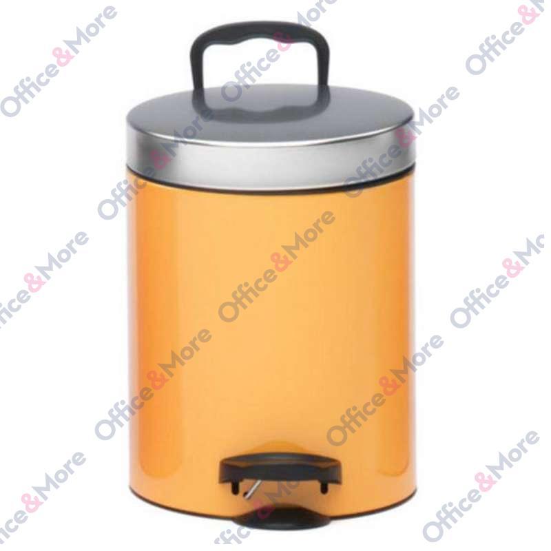 Kanta za smeće čelična 5 l orange - 354551
