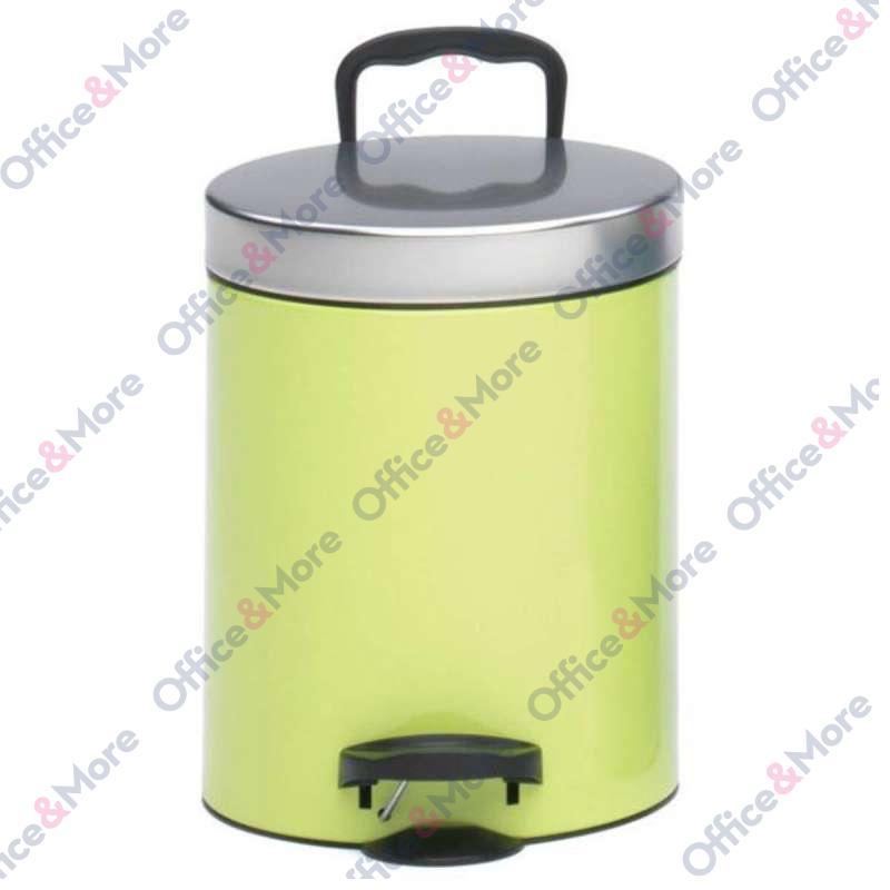 Kanta za smeće čelična 5 l zelena - 330851