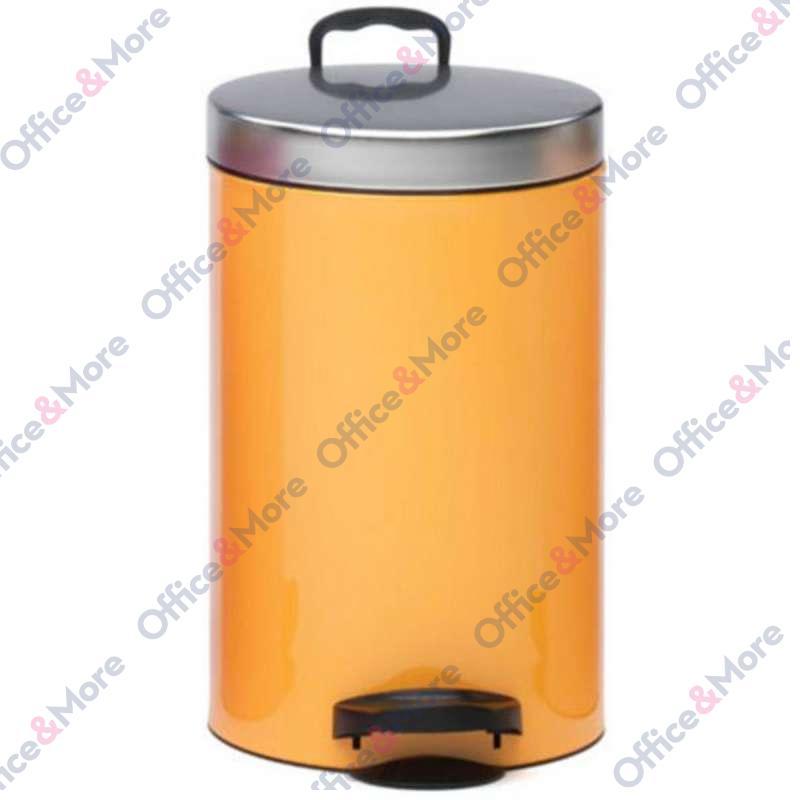 Kanta za smeće čelična 14 l orange - 370551