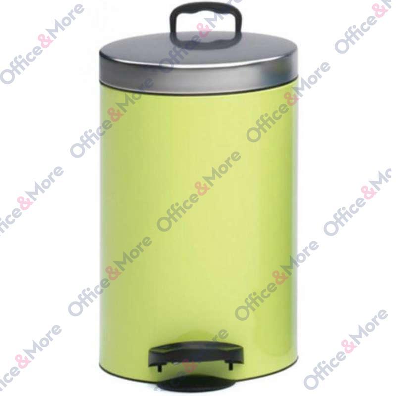 Kanta za smeće čelična 14 l zelena - 334651