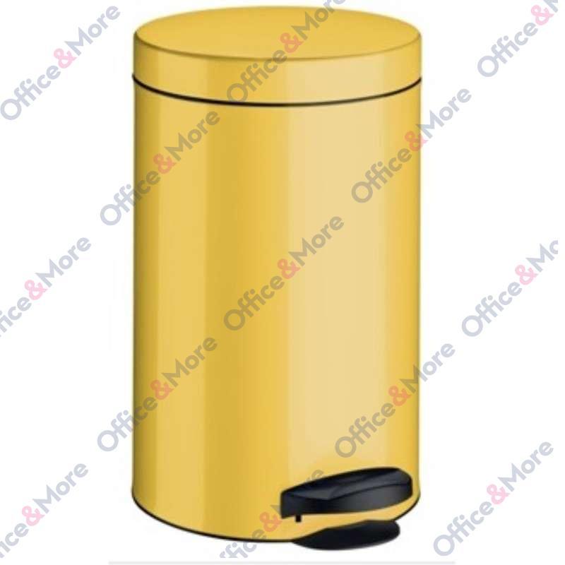 Kanta za smeće čelična 14 l žuta - 270095