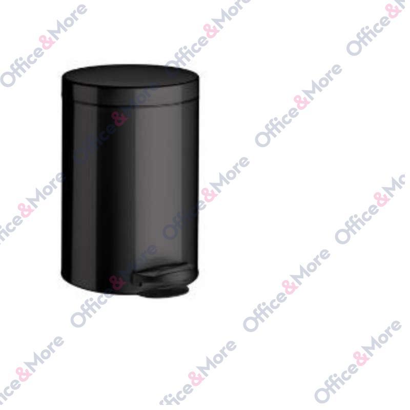 Kanta za smeće čelična 14 l crna - 064663